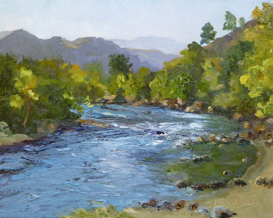 Images Of Rivers And Stream Paintings