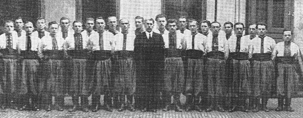 Хор василя осташевського львів 1943 р