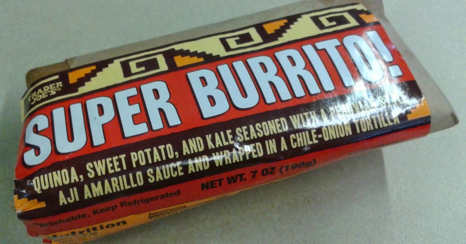 What\'s Good at Trader Joe\'s?: Trader Joe\'s Super Burrito!