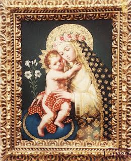 Santa Rosa de Lima y el Niño Jesús