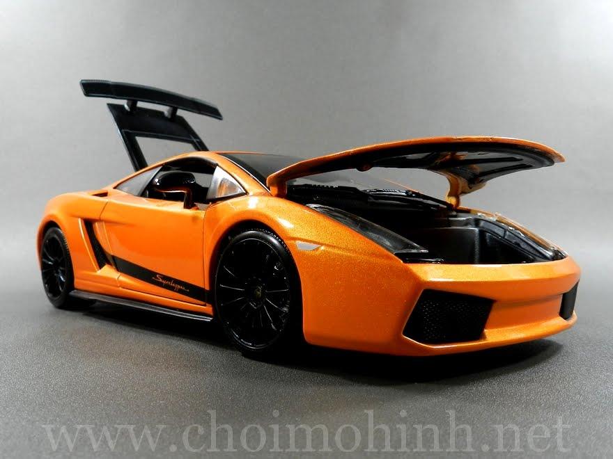Lamborghini Gallardo Superleggera 1:18 Maisto front