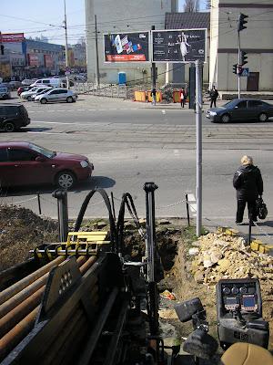 прокол под авто дорогой в Киеве