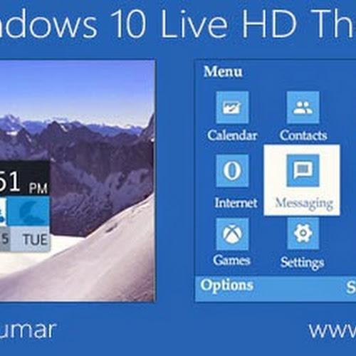 windows 10 live hd theme for nokia c3 00 x2 01 asha 200 201 205