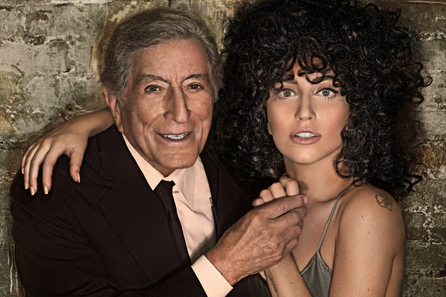 lady gaga Cheek To Cheek  lyrics on screen