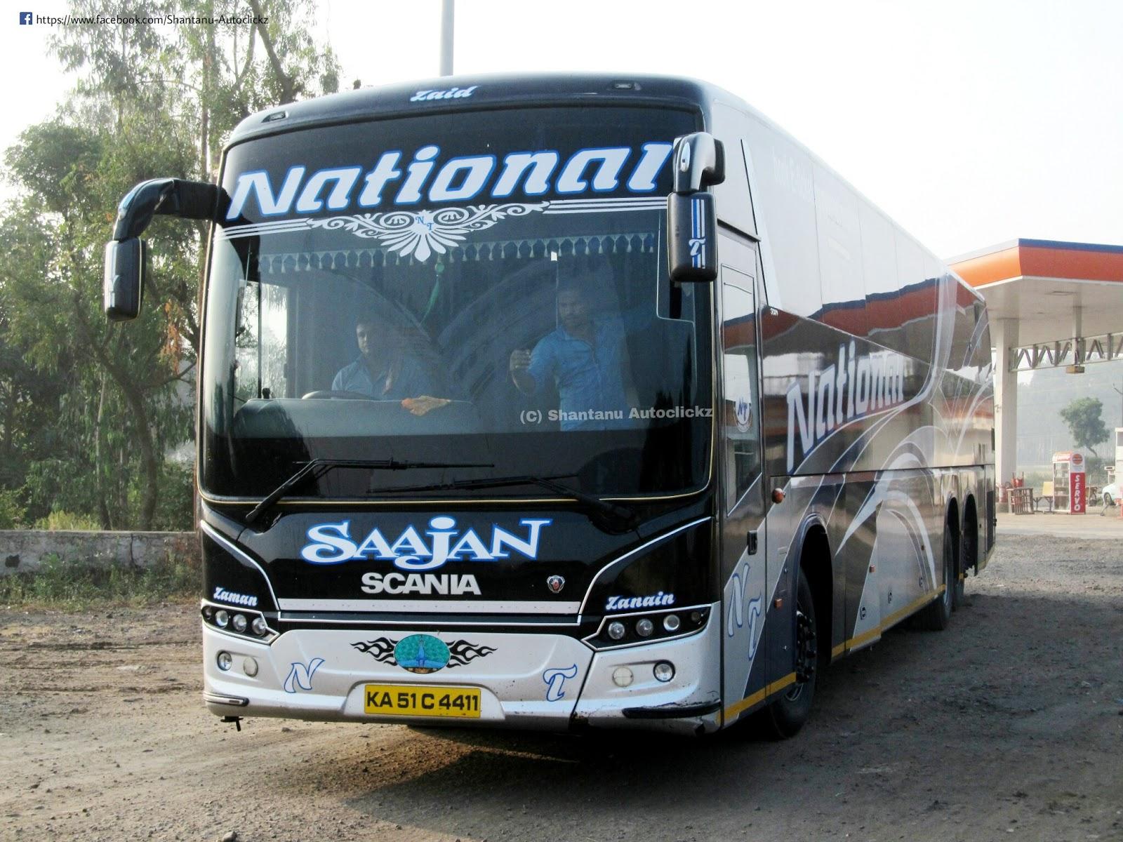 Shantanu Autoclickz National Travels Bangalore Scania Saajan