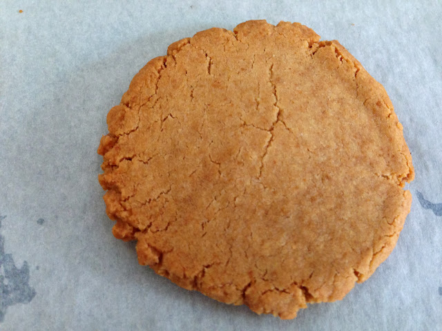 the crunchy coconut cookies