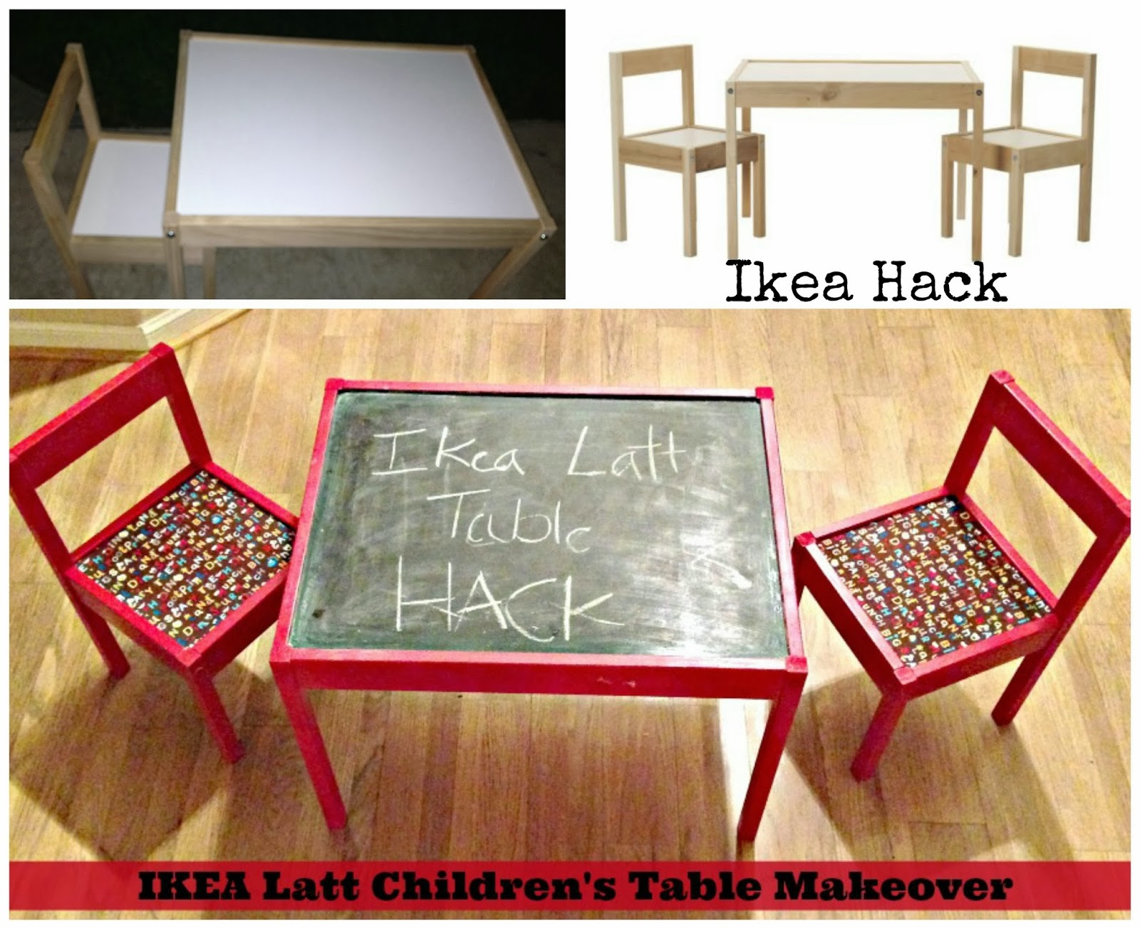 Ikea Latt Children's Table Makeover