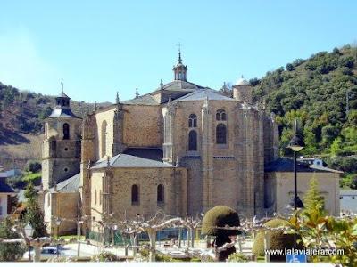 Colegiata Santa Maria Villafranca Bierzo Leon