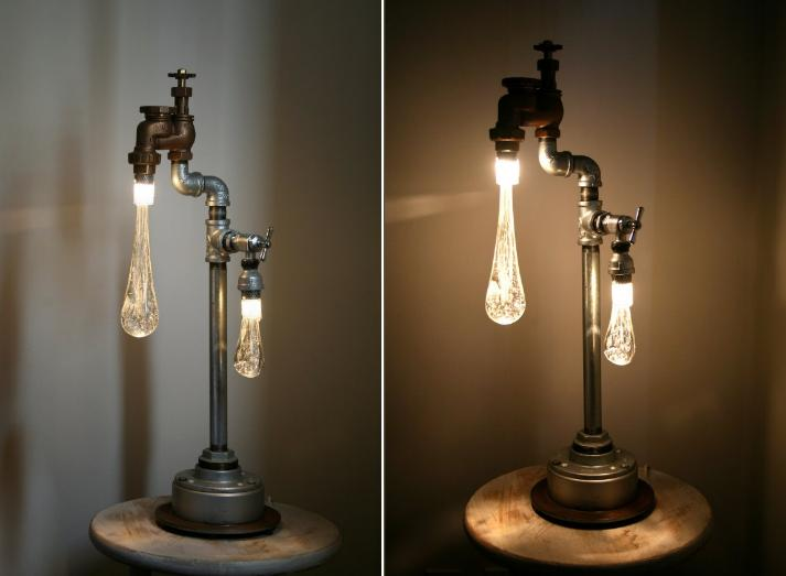 Two Light Fixtures