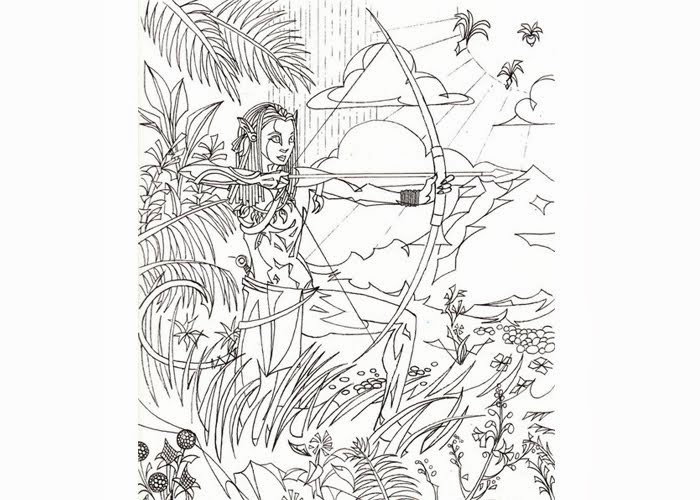 Avatar Coloring Pages Free Coloring Pages And Coloring Books For Kids
