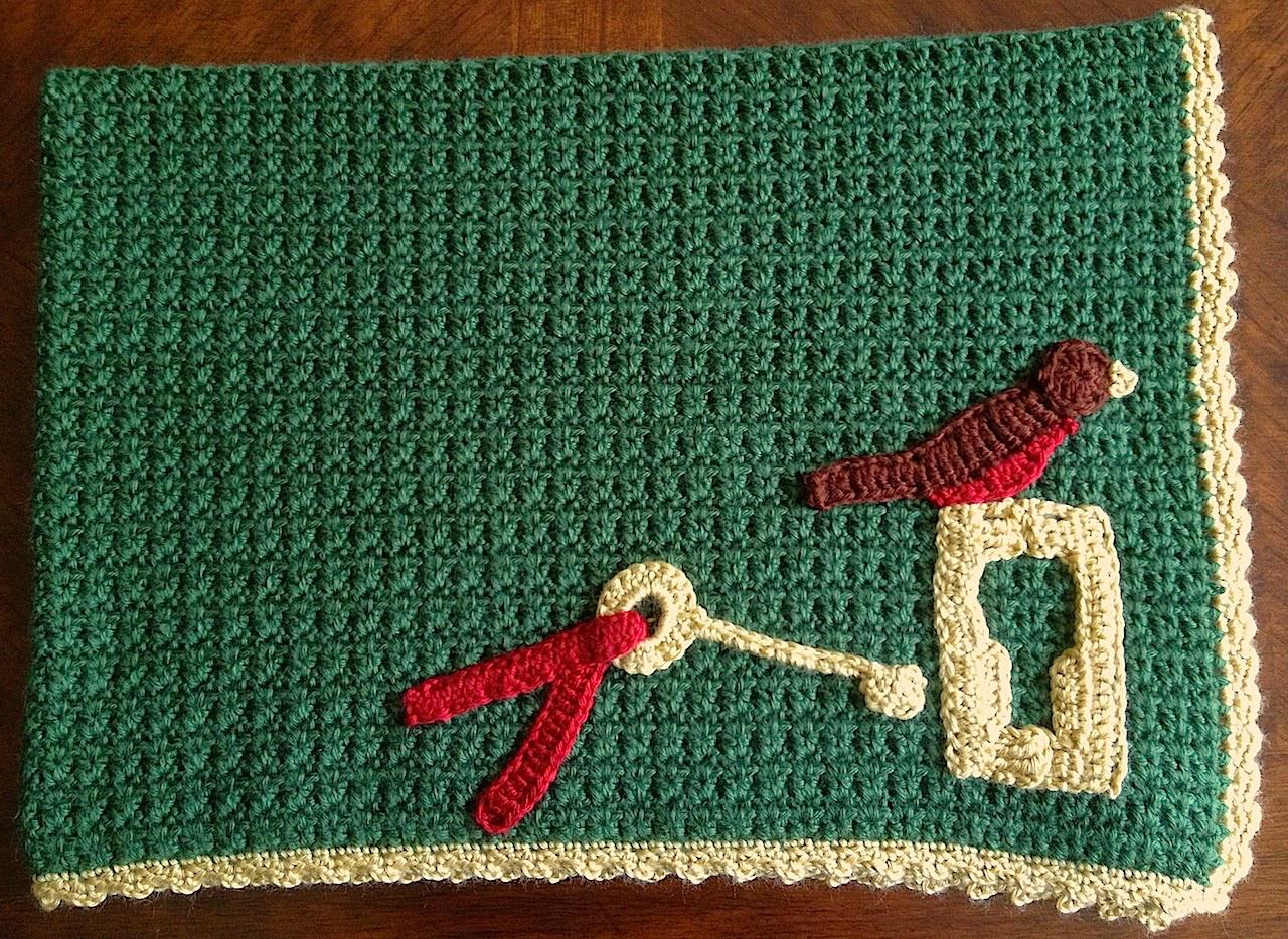 Illuminate Crochet The Secret Garden Baby Blanket
