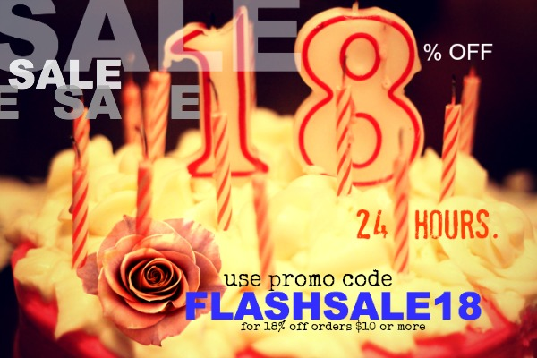 FLASHsale: Make a Wish in the Etsy Shop!