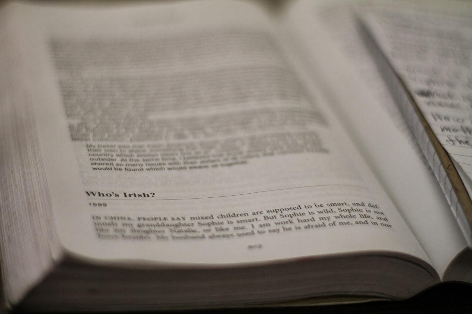 "whos irish gish jen essay Need essay sample on the struggle for communication in gish jen's ""who's irish"" we will write a cheap essay sample on the struggle for communication in gish jen's ""who's irish""."