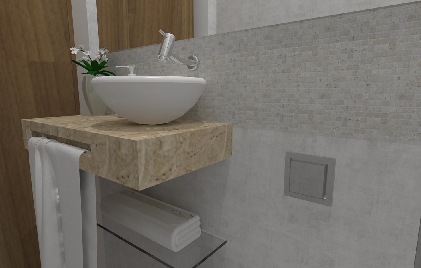 Banheiros e Lavabos Seu Sonho Desenhado #5D4A35 1470x936 Bancada Banheiro Silestone Vermelho