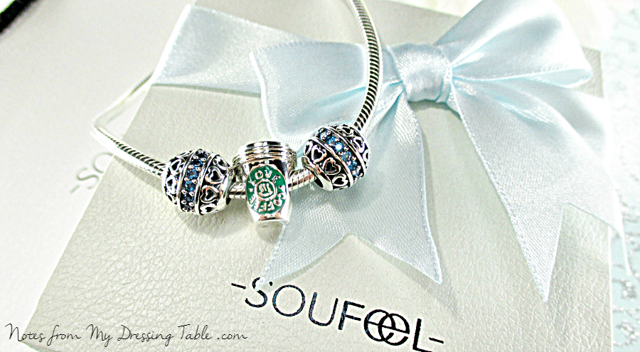 Soufeel Sterling Silver Charm Bracelet and Charms Review notesfrommydressingtable.com
