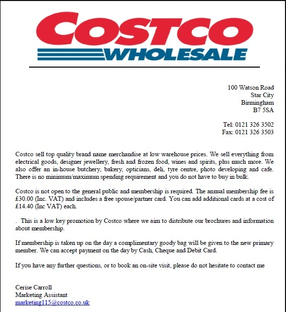 costco how to get spouse card