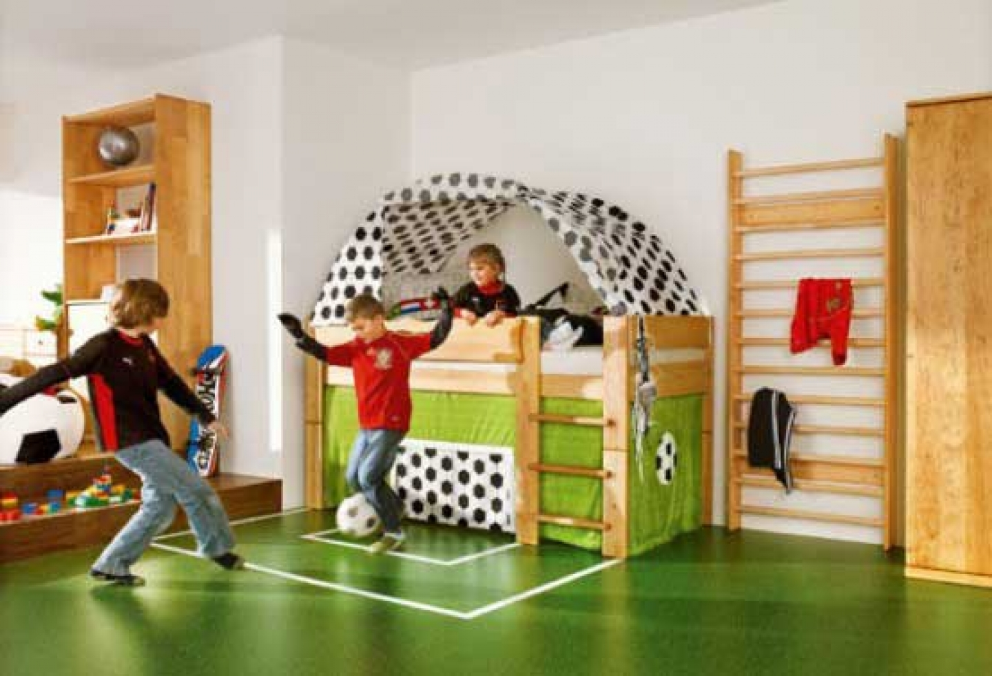 kids sports themed bedroom ideas