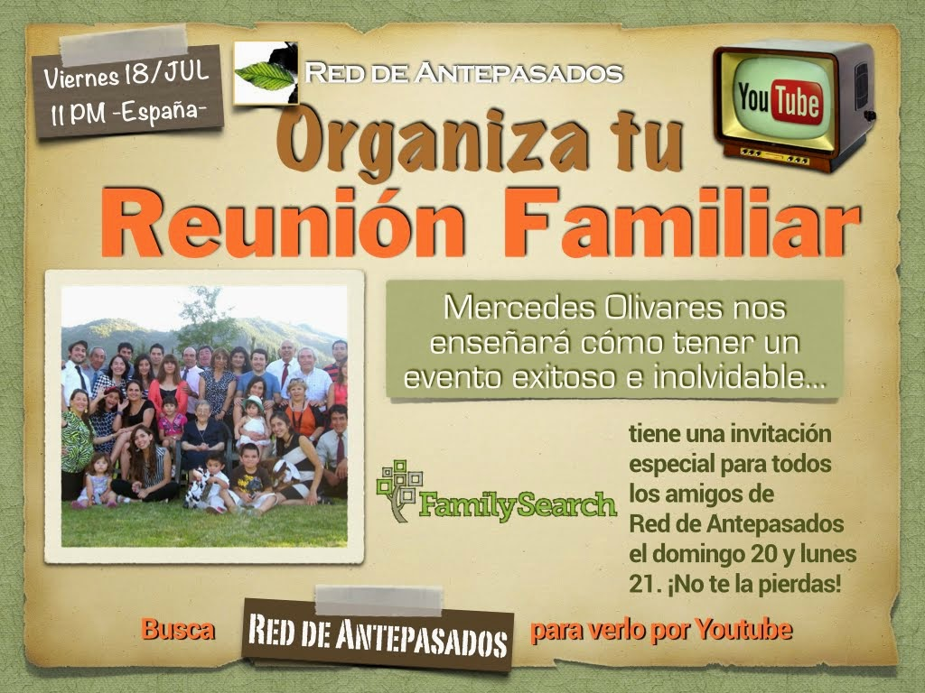 Como Organizar tu Reunion Familiar