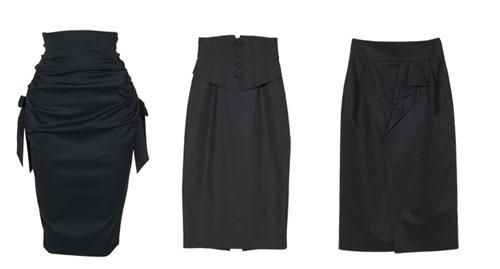 modas de vestidos y faldas