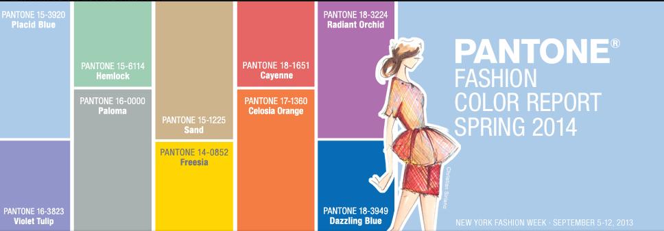 paleta colores pantone