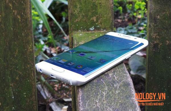 Thiết kế của Samsung galaxy s6 edge xách tay