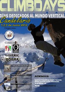 Cartel Climdays Candelario 2012