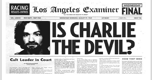 charles manson term paper