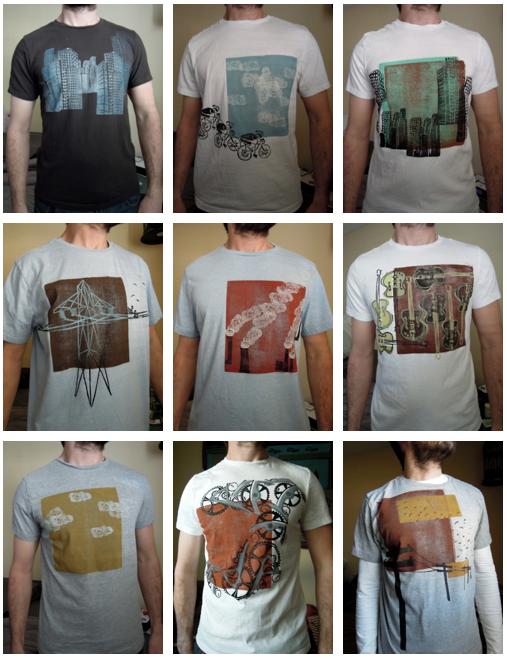 block print t-shirt