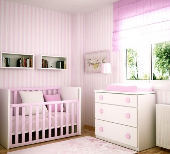 Qtlhd: ¿de qué color pintar la habitación del bebé?