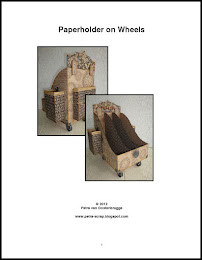 Paperholder on wheels