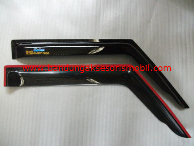Talang Air Hijet 1000 Original Black Depan