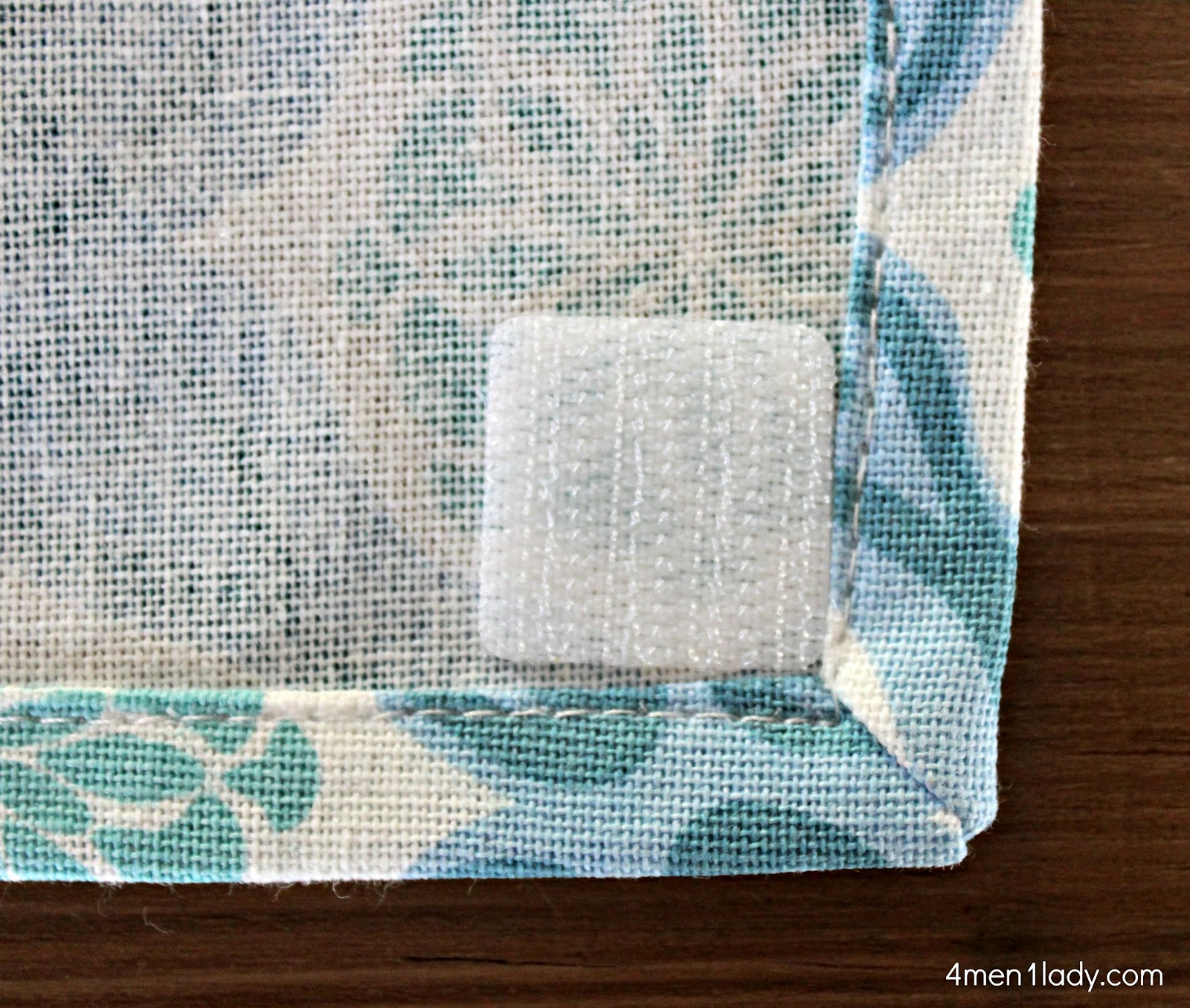 Easy fix for hanging dish towels.