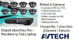 Paket 8 Camera HR 520 TVL