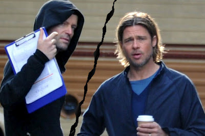 World War Z-Brad Pitt & Marc Forster