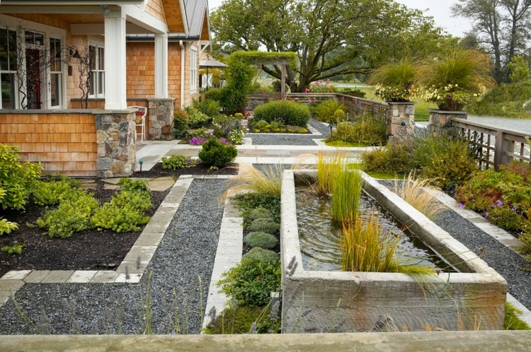 Front garden design examples Imagery raised beds