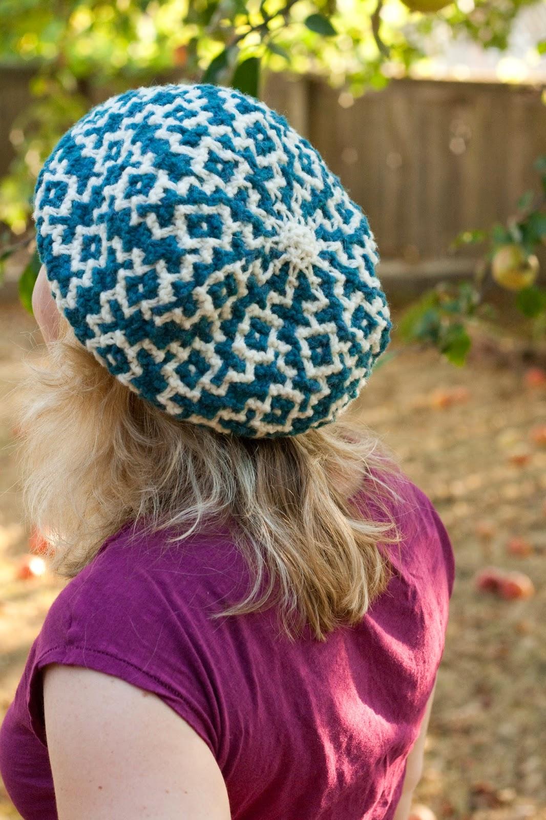 béret-tricot-mosaique