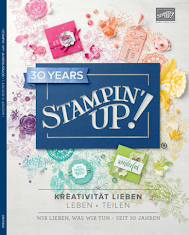 STAMPIN UP Jahreskatakog  2018 / 2019