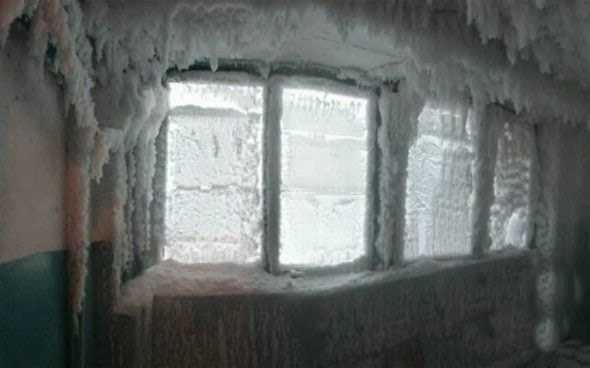 How Does -59°C (-74.2°F) Look Like