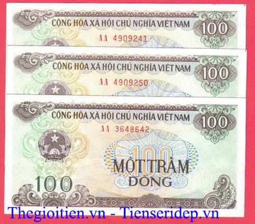 tiền 100đ cotton