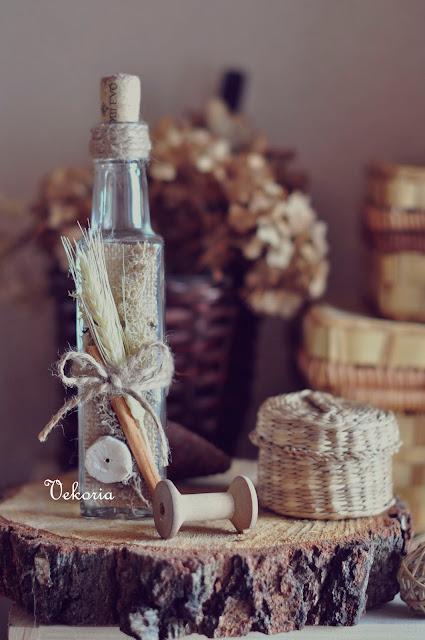 бутылка для декора