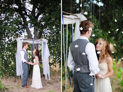 semplicemente perfetto wedding azzurro blu twilight