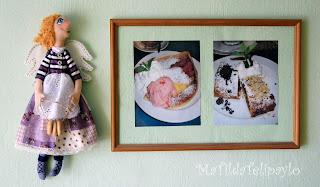 Кухонная фея из ткани