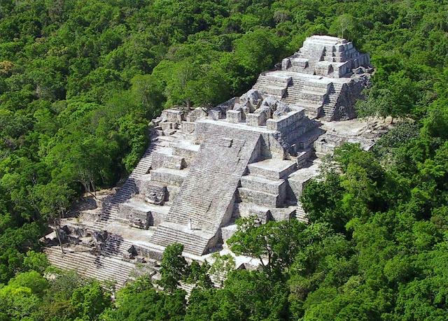 Zonas arqueológica Campeche