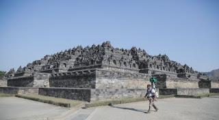 Gambar Street View Candi Borobudur (Google Maps)