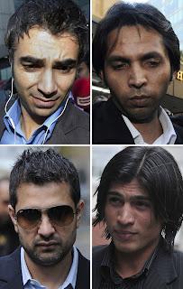 Muhammad Aamir, Mazhar Majeed, Muhammad Asif, Salman Butt