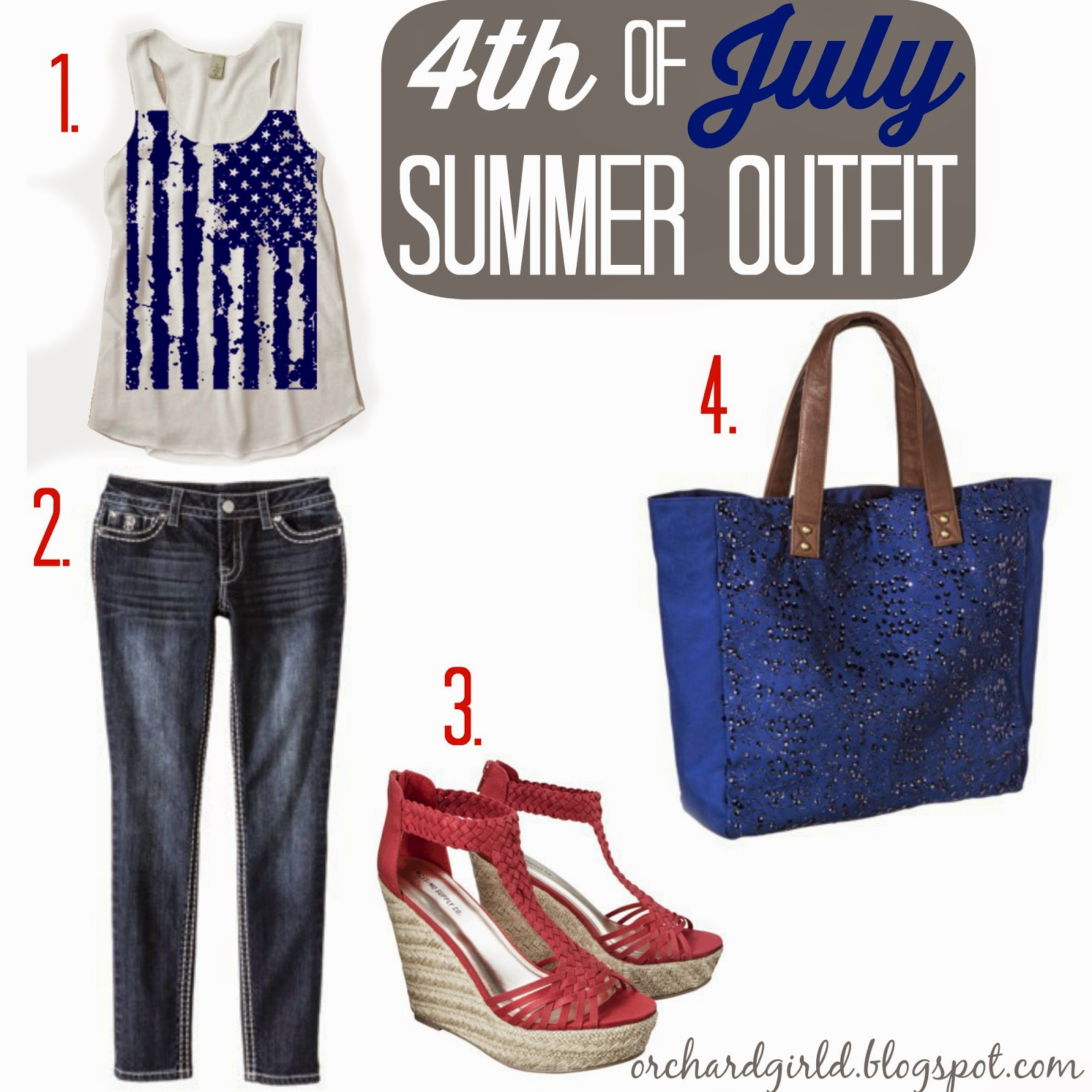 4th of July Summer Outfit by Orchard Girls #summer #4thofjuly #outfit