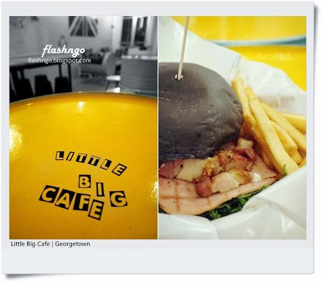 槟城美食 | Little Big Cafe | 无敌烧肉汉堡