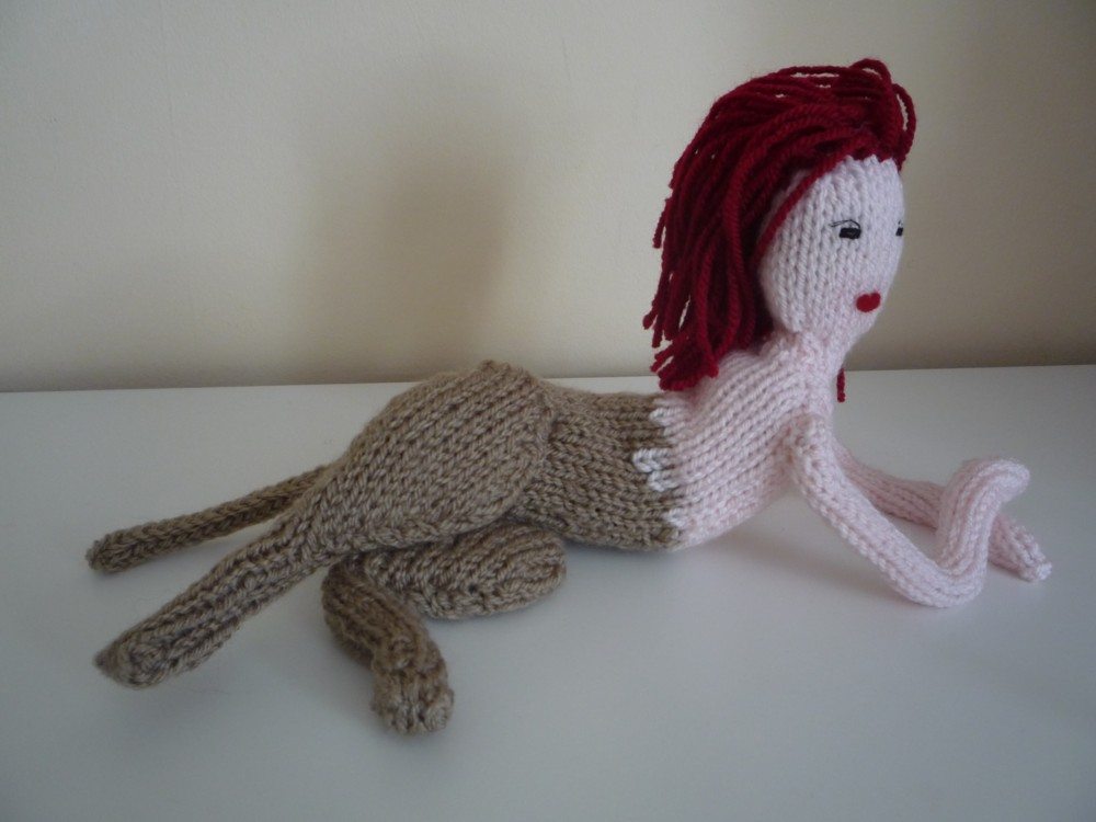 Knit For Victory David Bowie Doll