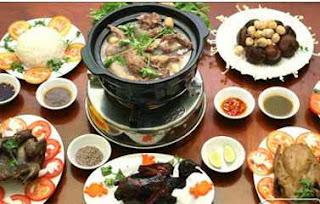 Món ăn ngon: Lẩu cháo bồ câu