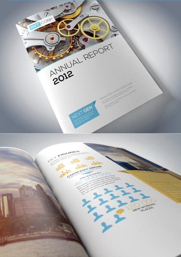 Awesome Annual Report Design Ideas  JayceOYesta